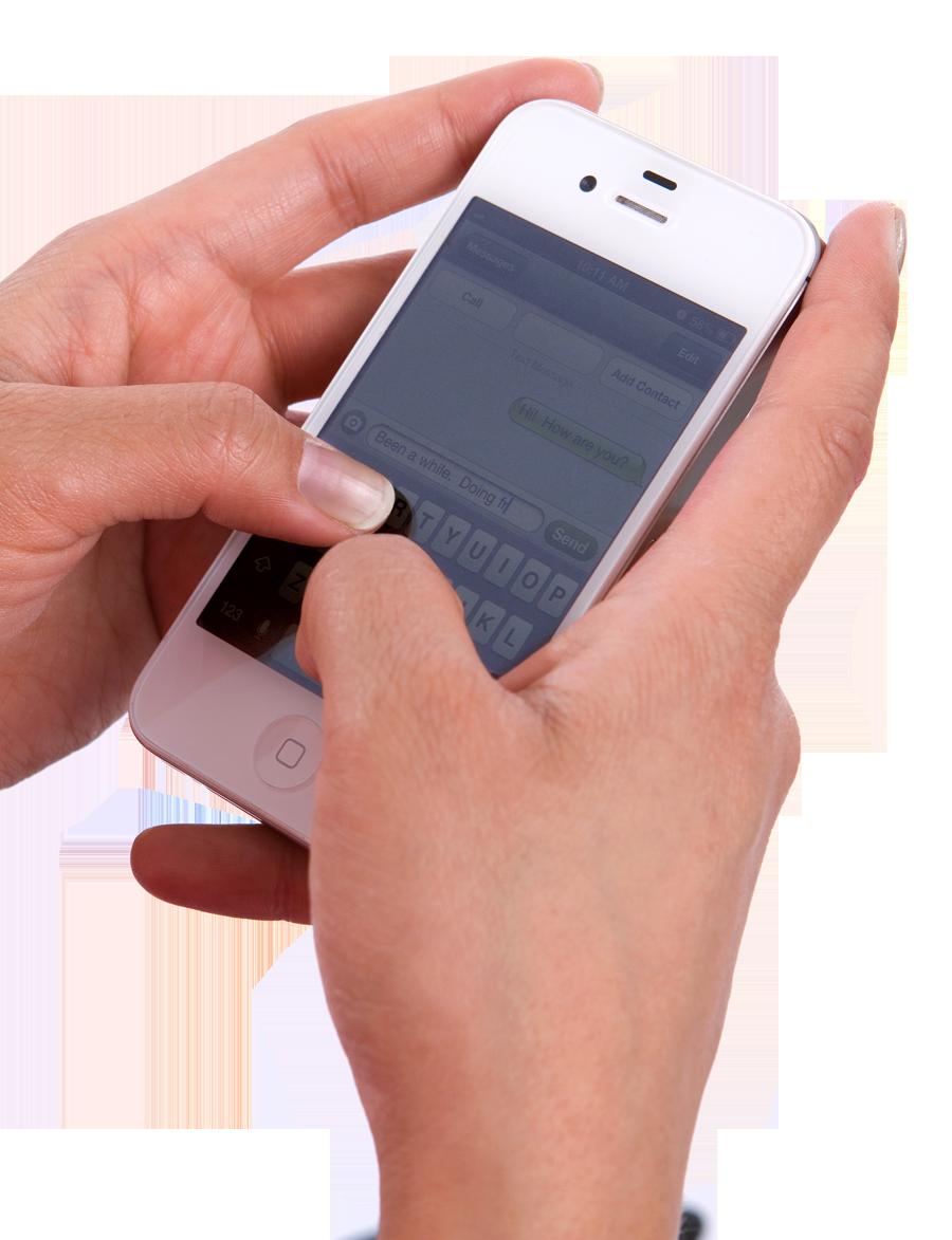 Texting-Hand