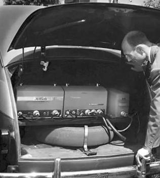 Phone in trunk