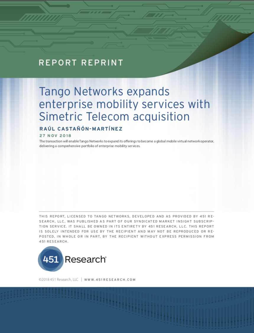 Tango Networks Blog | Second Waver Mobility